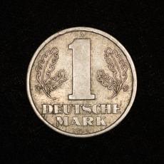 1 Deutsche Mark 1956 German Democratic Republic