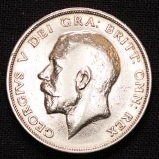 Half Crown 1914 Georgius V Großbritannien