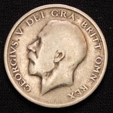 Half Crown 1916 Georgius V Great Britain