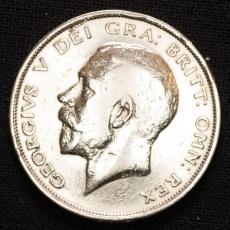 Half Crown 1918 Georgius V Großbritannien