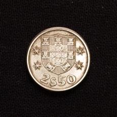 2 1/2 Escudos 1963 Portugal