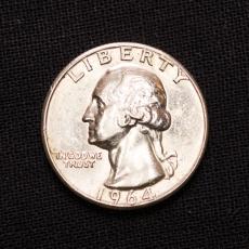 Quarter Dollar 1964 United States