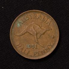 1/2 PENNY 1951 Australien