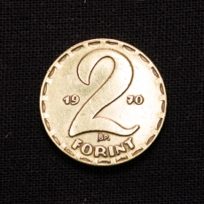 2 FORINT 1970 Ungarn