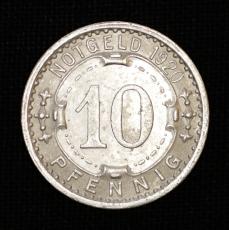 10 Pfennig 1920 Notgeld Stadt Lennep / Rheinprovinz