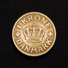 1 Krone 1926 HCN GJ Dänemark