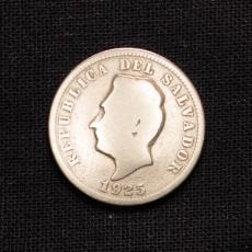 5 CENTAVOS 1925 REPUBLIC OF EL SALVADOR