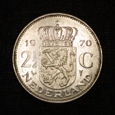 2 1/2 Gulden 1970 Netherlands