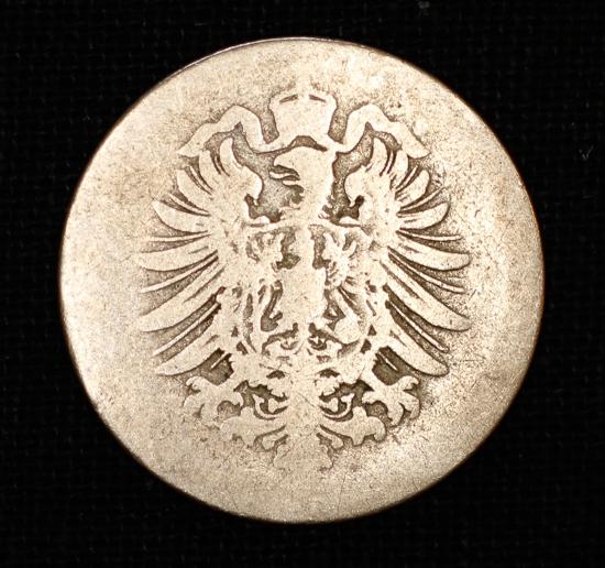 10 Pfennig 1875 Deutsches Reich Kleiner Adler