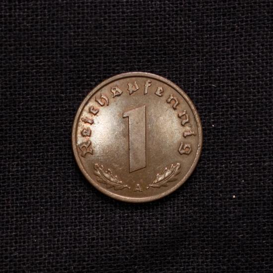 1 Reichspfennig 1937 A Deutsches Reich