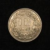 1 Franken 1968 B Switzerland