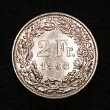 2 Franken 1968  B Switzerland