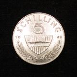 5 Schilling 1961 Österreich