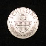 5 Schilling 1965 Österreich