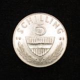 5 Schilling 1962 Österreich