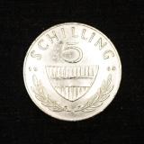 5 Schilling 1960 Österreich