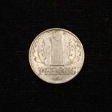 1 Pfennig 1965 Deutsche Demokratische Republik