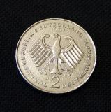 2 DM 1981 J Adenauer 1949 - 1969