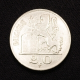 20 Franken 1950 Belgien
