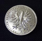 5 DM 1986 F Gedenkmünze 1712 - 1786 Friedrich der Grosse 1986