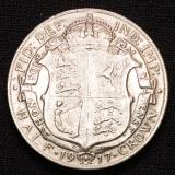 Half Crown 1917 Georgius V Großbritannien