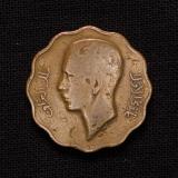 10 Fils 1938 König Ghazi I Iraq