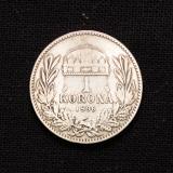 1 Korona 1896 Ungarn