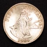 50 Centavos 1964 Philipinen