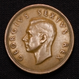 1 Penny 1948 South Africa