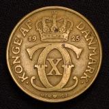 2 Kroner 1925 HCN GJ Denmark