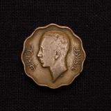 4 Fils 1938 König Ghazi Iraq