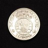 10 Escudos Mocambique 1952 Portugal