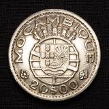 20 Escudos Mocambique 1952 Portugal