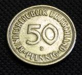 50 Pfennig 1950 D  Germany