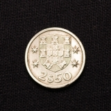 2 1/2 Escudos 1964 Portugal