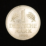 1 DM 1990 J Germany