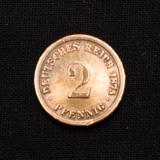 2 Pfennig 1875 D