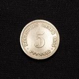 5 Pfennig 1894 D