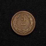 2 Filler 1892 KB Haus Habsburg Franz Joseph I Ungarn