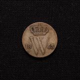1/2 Cent 1863 Willem III Niederlande