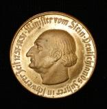 100 Mark 1922 Notgeld der Provinz Westfalen Minister von Stein