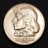 10 ZLOTYCH 1966 Polen