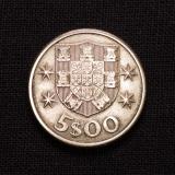 5 Escudos 1963 Portugal