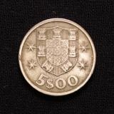5 Escudos 1964 Portugal
