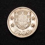 5 Escudos 1967 Portugal