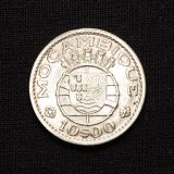10 Escudos 1954 MOZAMBIQUE / Portugal