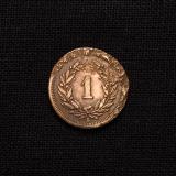 1 Rappen 1895 B Schweiz