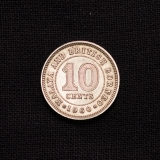 10 CENTS 1960 British Borneo