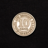 10 CENTS 1953 British Borneo