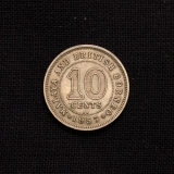 10 CENTS 1957 British Borneo